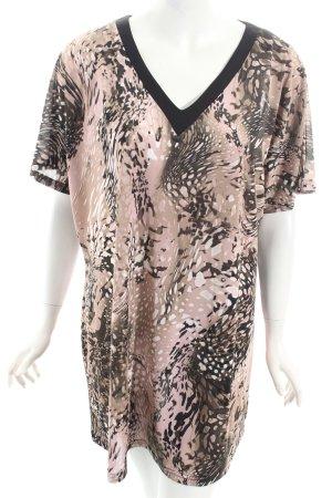 W les Femmes Camisa tipo túnica estampado con diseño abstracto look casual