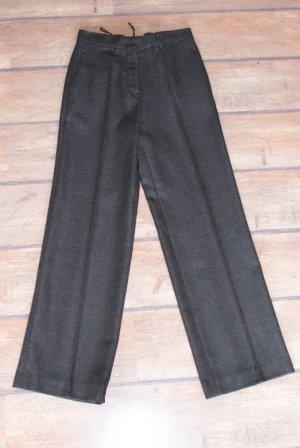 Jil Sander Woolen Trousers anthracite mixture fibre