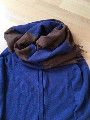 w. Neu - Marc o' Polo Schal aus Wolle Blau Braun