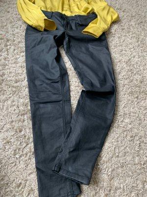 Mango Pantalón de cinco bolsillos negro