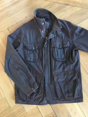 Barbour Giacca cerata marrone scuro-marrone-nero