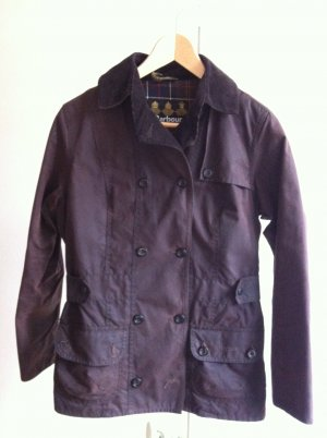 Barbour Waxed Jacket bronze-colored cotton