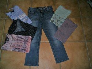 Wadenlange Jeans Street One W26 und Shirts