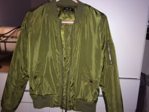 Giacca bomber cachi Poliestere
