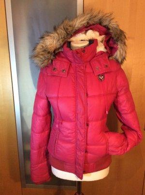 Wärme kurze Jacke mit Kapuze von American Eagle