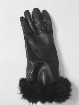Roeckl Gants en cuir noir cuir