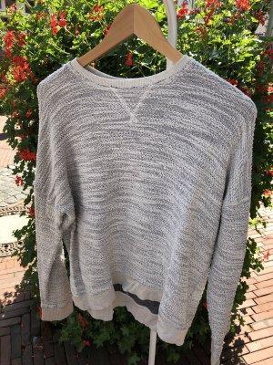 Abercrombie & Fitch Crewneck Sweater light grey-oatmeal