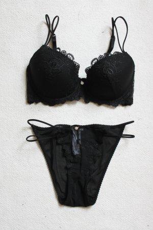 Wäsche Set von Heine Neu schwarz