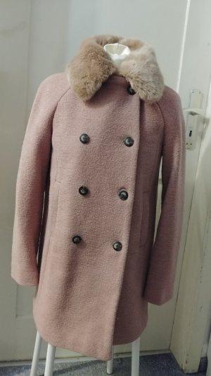 Zara Manteau or rose