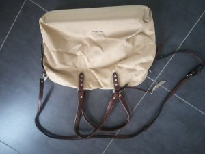 Borsa pc color cammello