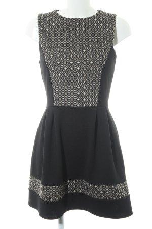 Wal G Vestido babydoll estampado con diseño abstracto look casual