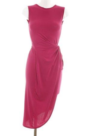 Wal G Jerseykleid magenta Business-Look