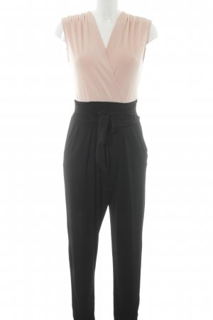 Wal G Jumpsuit schwarz-nude Colourblocking Casual-Look