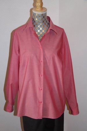 Walbusch Extraglatt Bluse  Gr. 40 pink