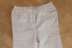 Walbusch Pantalón de cintura alta marrón arena tejido mezclado