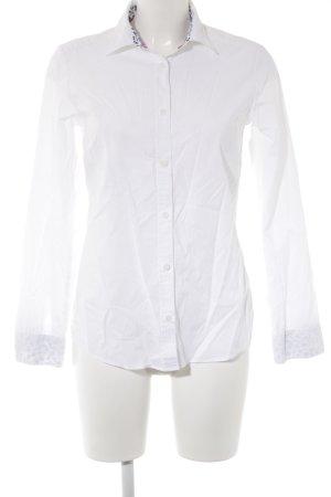 Walbusch Hemd-Bluse weiß Business-Look