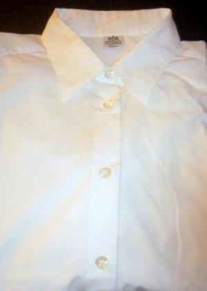 WALBUSCH - klassische Hemdbluse - extra glatt (bügelfrei) -weiss