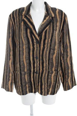 Walbusch Long-Blazer abstrakter Druck Casual-Look
