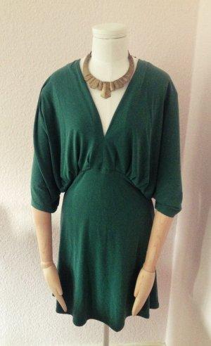 Waldgrünes H&M Trend Fledermaus Shirt/ Kleid Tunika