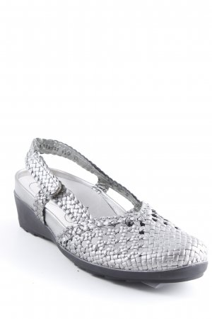 Waldläufer Sandalo comodo argento modello web stile casual