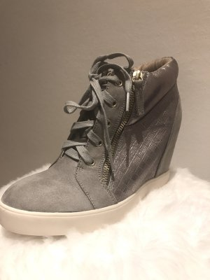 Anna Field Wedge Sneaker multicolored textile fiber
