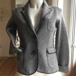 Massimo Dutti Wool Blazer grey