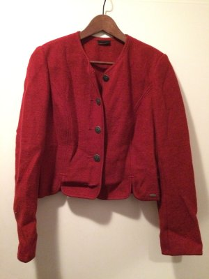 Giesswein Wool Jacket brick red wool
