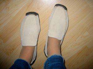 Wallabee von Clarks, bequeme Schuhe zum Reinschlüpfen