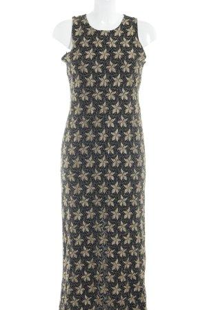 Wallis Abendkleid schwarz-goldfarben Elegant