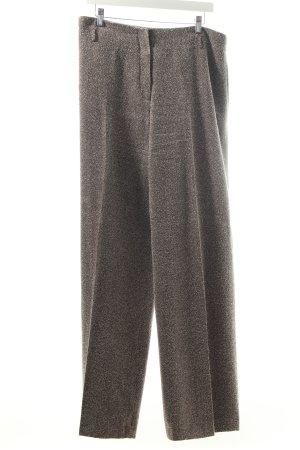 Wallis Anzughose braun-weiß Nadelstreifen Eleganz-Look
