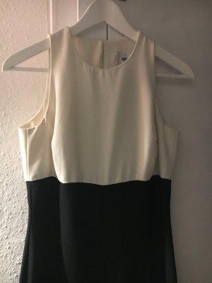 Wallis - eleganter Jumpsuit in trendigem schwarz/weiß, in Größe M