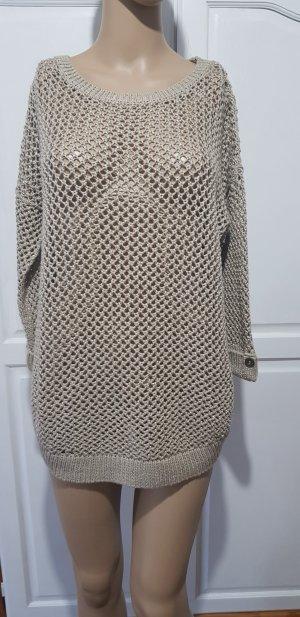 wallis grob strick loch muster pullover