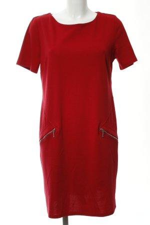 Wallis Kurzarmkleid rot klassischer Stil