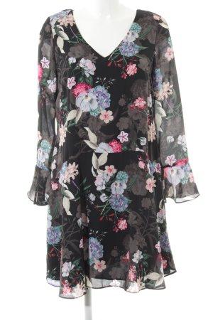 Wallis Langarmkleid florales Muster Casual-Look