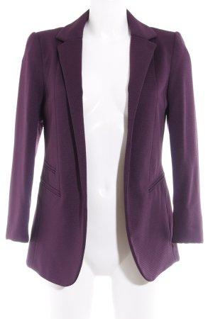 Wallis Long-Blazer dunkelviolett Elegant