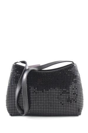 Wallis Minitasche schwarz extravaganter Stil