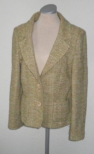 Wallis retro Blazer grün Gr. UK 14 EUR 42 M L Büro business
