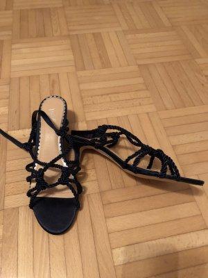 Wallis Riemchen Sandalette dunkelblau Neu