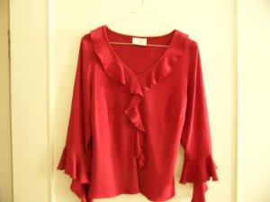 Wallis Shirt/ Busentop Rot Gr. 14/40 Edel Viskose