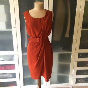 Wallis Vintage Kleid orange Gr. 38 top Zustand