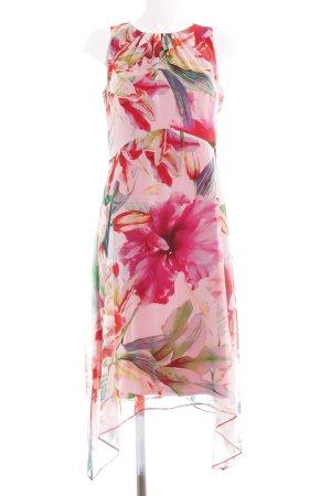 Wallis Volantkleid florales Muster Romantik-Look