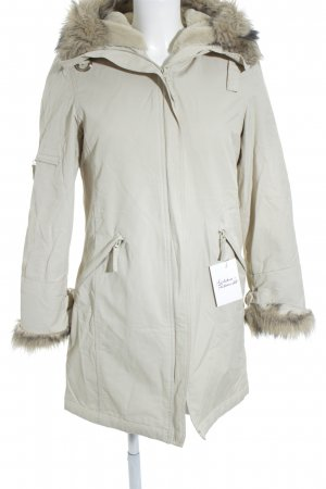 Wallis Wintermantel creme Casual-Look