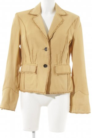 Walter Leder Lederjacke sandbraun Country-Look