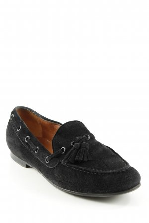 Walter Steiger Moccasins black casual look