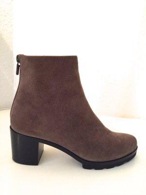 WALTER STEIGER Stiefeletten Schuhe 36 NEU Beige Braun Wildleder Boots