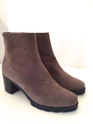 WALTER STEIGER Stiefeletten Schuhe 36 NEU Stiefel Beige Braun Wildleder Boots