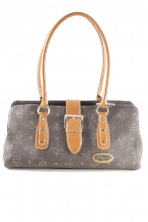 Walter Valentino Carry Bag monogram pattern casual look