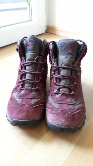 Jack Wolfskin Short Boots carmine
