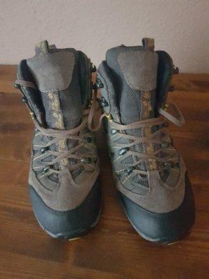 Jack Wolfskin Hoge laarzen groen-grijs