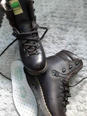 Meindl Aanrijg laarzen donkerbruin Leer